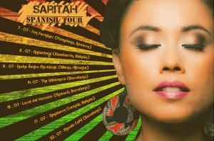 Saritah PosterSpain small