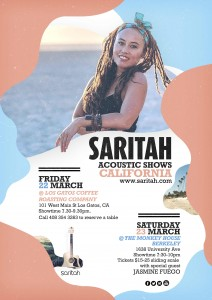 SARITAH CALIFORNIA small