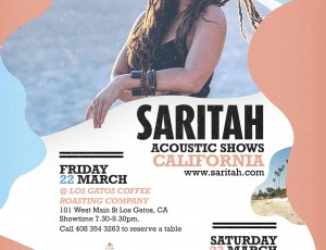 Berkeley + Los Gatos, California acoustic shows announced